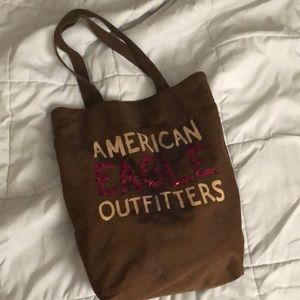 American Eagle outfitters tote bag w sequins